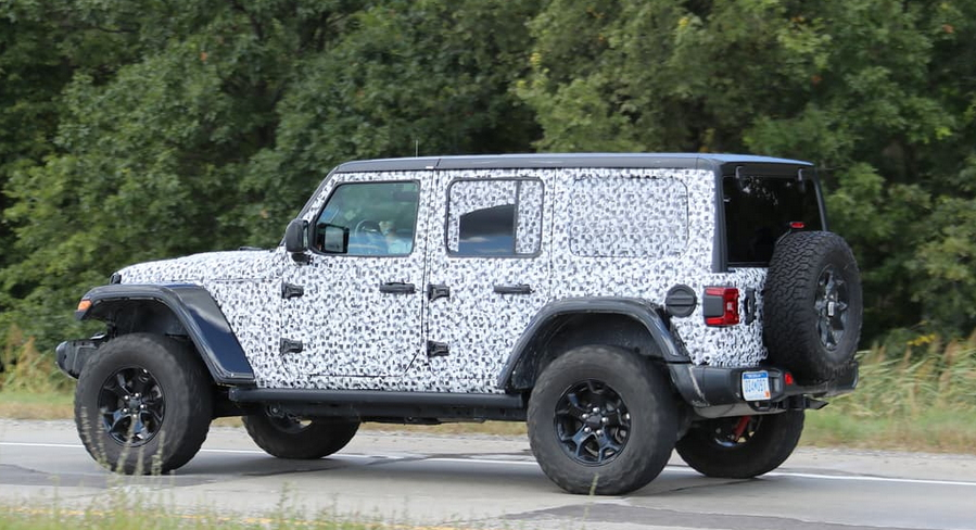2018 Jeep Wrangler: the Details